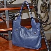 Сумки и аксессуары handmade. Livemaster - original item Roomy bag made of genuine leather. Model No. 173. Handmade.