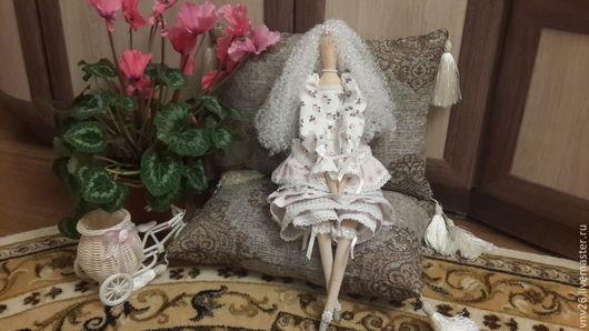 Куклы Тильды ручной работы. Ярмарка Мастеров - ручная работа. Купить Кокетка ЛЮ. Handmade. Тильда кукла, тильда принцесса