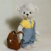 Куклы и игрушки ручной работы. Ярмарка Мастеров - ручная работа мишка Оська. Handmade.