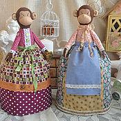 """Куклы и игрушки ручной работы. Ярмарка Мастеров - ручная работа Грелки на чайник """"Символ года"""". Handmade."""