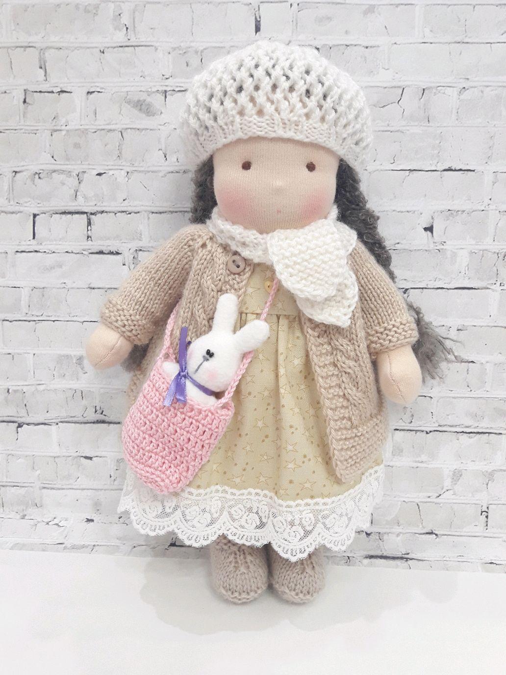 Куколка в вальдорфском стиле, Вальдорфские куклы и звери, Набережные Челны,  Фото №1