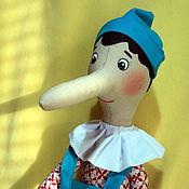 Куклы и игрушки ручной работы. Ярмарка Мастеров - ручная работа Пиноккио. Handmade.
