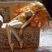 Шарнирная кукла ручной работы. Ярмарка Мастеров - ручная работа Авторская шарнирная фарфоровая кукла Солнечный Мед. Handmade.