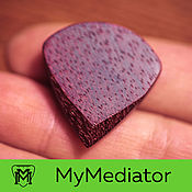 Музыкальные инструменты handmade. Livemaster - original item The mediator from the wood of amaranth Amaranth Jazz. Handmade.