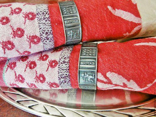 Винтажная посуда. Ярмарка Мастеров - ручная работа. Купить Винтажные кольца для салфеток  Vikings олово Норвегия. Handmade. Кольца для салфеток