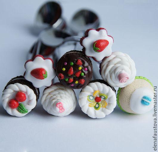 Ложки ручной работы. Ярмарка Мастеров - ручная работа. Купить Вкусные ложечки. Handmade. Весна, сувениры и подарки, дом, торт