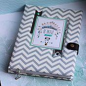 Канцелярские товары handmade. Livemaster - original item babybook for a boy boho.. Handmade.