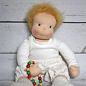 Куклы и игрушки ручной работы. Ярмарка Мастеров - ручная работа Мила Нежность  - кукла ручной работы в вальдорфском стиле. Handmade.