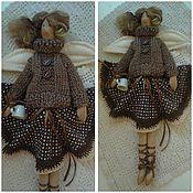 Куклы и игрушки ручной работы. Ярмарка Мастеров - ручная работа Кофейная феечка Джемма забронирована. Handmade.