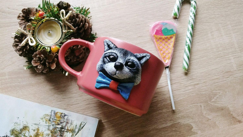 Big Raccoon mug, Mugs and cups, Novorossiysk,  Фото №1