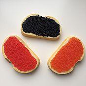 Косметика ручной работы. Ярмарка Мастеров - ручная работа Мыло бутерброд с икрой. Handmade.