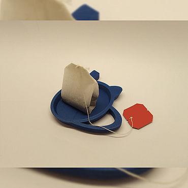 Для дома и интерьера ручной работы. Ярмарка Мастеров - ручная работа Подставка для чайного пакетика. Handmade.