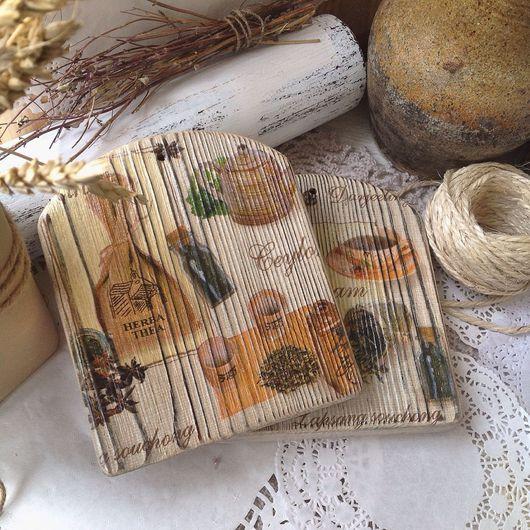 Кухня ручной работы. Ярмарка Мастеров - ручная работа. Купить Сырные досочки. Handmade. Обжиг, материалы для декупажа
