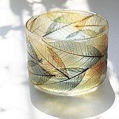 Для дома и интерьера ручной работы. Ярмарка Мастеров - ручная работа Медовые листья. Handmade.