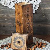 """Для дома и интерьера ручной работы. Ярмарка Мастеров - ручная работа Короб для хранения орехов """" Три орешка"""" 2. Handmade."""