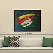 Картины и панно handmade. Livemaster - original item Painting in the house abstract oil, buy in Minsk 75H80. Handmade.