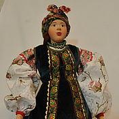 Куклы и игрушки ручной работы. Ярмарка Мастеров - ручная работа Кукла в костюме Киевской губернии 19 века. Handmade.