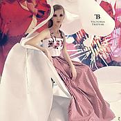 Одежда ручной работы. Ярмарка Мастеров - ручная работа Длинная юбка/юбка в пол/юбка/топ. Handmade.