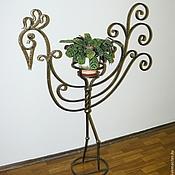 Фото художественная ковка подставки для цветов