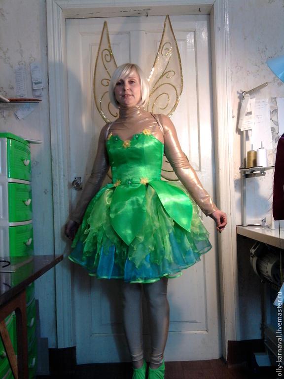 Как сделать костюм феи своими