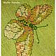 Льняное платье с ручной вышивкой Бабочки - 2.\r\nМодная одежда с ручной вышивкой. \r\nТворческое ателье Modne-Narodne.