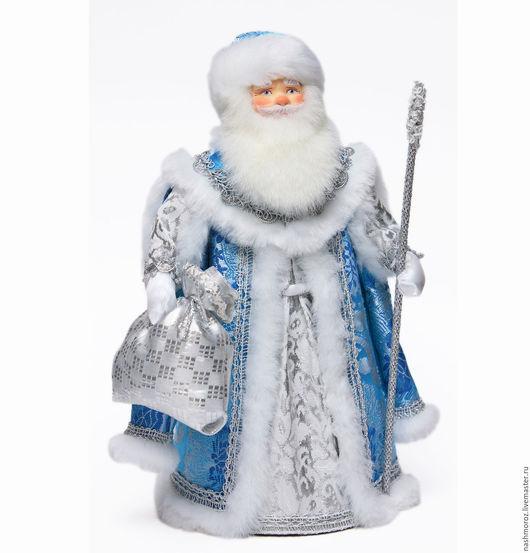 """Коллекционные куклы ручной работы. Ярмарка Мастеров - ручная работа. Купить 10. Дед мороз """"Морозко"""", под елку, фарфор, 35см. Handmade."""