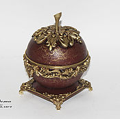 Для дома и интерьера handmade. Livemaster - original item Box Apple Dolce vita. Handmade.