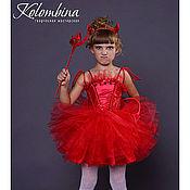 Работы для детей, ручной работы. Ярмарка Мастеров - ручная работа карнавальный костюм дьяволёнка, чертёнка-65. Handmade.