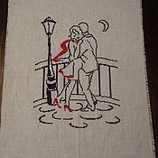 Картины и панно ручной работы. Ярмарка Мастеров - ручная работа На мосту. Handmade.
