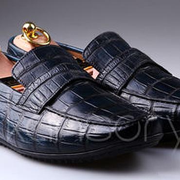 Обувь ручной работы. Ярмарка Мастеров - ручная работа Мокасины IMA5013VC. Handmade.