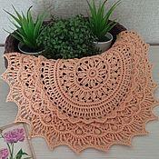 Для дома и интерьера handmade. Livemaster - original item Decorative napkins: Relief napkin
