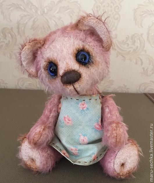 Мишки Тедди ручной работы. Ярмарка Мастеров - ручная работа. Купить Мишка ЛилИ. Handmade. Мишка тедди, мишка девочка
