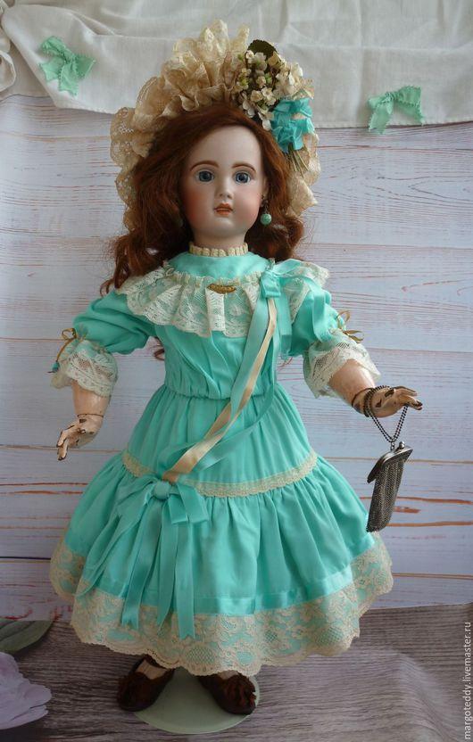 Винтажные куклы и игрушки. Ярмарка Мастеров - ручная работа. Купить Антикварная кукла Jumeau модель 1907 рост 65 см. Handmade.