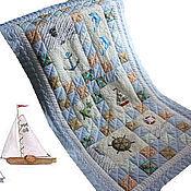 Для дома и интерьера ручной работы. Ярмарка Мастеров - ручная работа Комплект из двух одеял и двух подушек. Handmade.