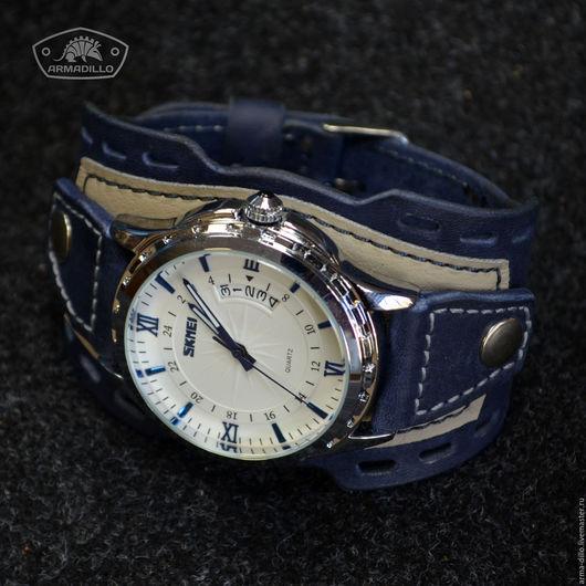 Часы на авторском браслете Armadillo