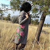 """Одежда ручной работы. Ярмарка Мастеров - ручная работа платье """"Розовые розы"""". Handmade."""