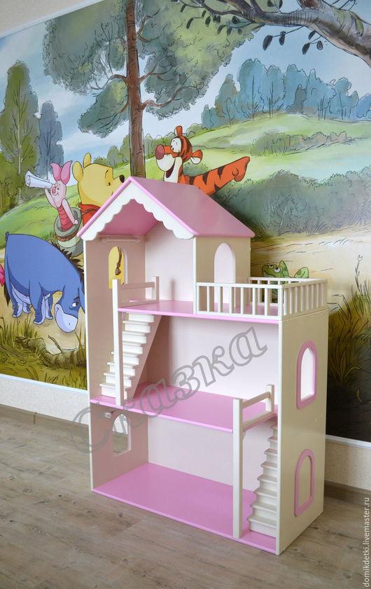 Кукольный дом ручной работы. Ярмарка Мастеров - ручная работа. Купить Кукольный домик. Handmade. Кукольный дом, подарок девочке