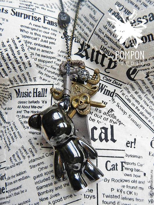 """Кулоны, подвески ручной работы. Ярмарка Мастеров - ручная работа. Купить Подвеска """"Пираты Карибского моря"""". Handmade. Мишка"""