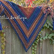 Аксессуары handmade. Livemaster - original item Crocheted shawl with tassels Oriental spices, crocheted cowl. Handmade.