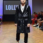 Мужская одежда handmade. Livemaster - original item Leather Man Coat. Handmade.