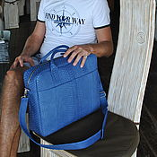 Сумки и аксессуары handmade. Livemaster - original item Mens business bag. Handmade.