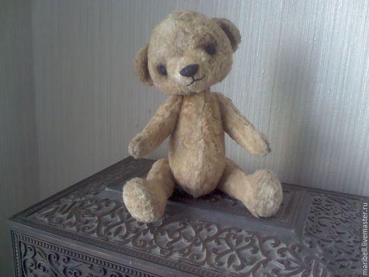Мишки Тедди ручной работы. Ярмарка Мастеров - ручная работа. Купить Витюша. Handmade. Бежевый, ручной, эксклюзивный, тедди