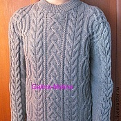 Мужская одежда handmade. Livemaster - original item Sweater men`s.. Handmade.