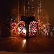 Для дома и интерьера ручной работы. Ярмарка Мастеров - ручная работа подсвечник в восточном стиле. Handmade.