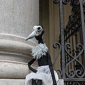 Куклы и пупсы ручной работы. Ярмарка Мастеров - ручная работа Художественная кукла Балерина - Птица.Коллекция Балетные фантасмагории. Handmade.