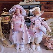 Куклы и игрушки ручной работы. Ярмарка Мастеров - ручная работа Нежные розовые сплюшки. Handmade.