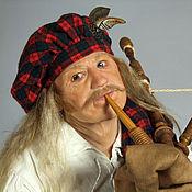 Куклы и игрушки ручной работы. Ярмарка Мастеров - ручная работа Шотландец. Handmade.