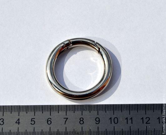 Другие виды рукоделия ручной работы. Ярмарка Мастеров - ручная работа. Купить Кольцо разъемное 40 мм ( серебро). Handmade.