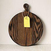 Посуда handmade. Livemaster - original item Wooden cutting Board