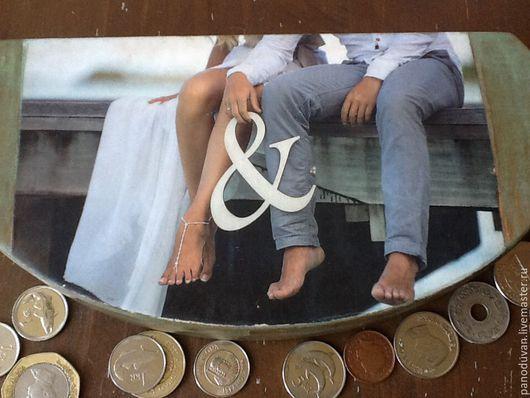 """Шкатулки ручной работы. Ярмарка Мастеров - ручная работа. Купить Шкатулка для денег"""" Для двоих"""". Handmade. Купюрница, деньги в подарок"""